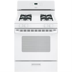 "30"" Gas Stove w/Glass Door XGBS400DMWW Image"